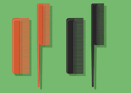 comb out: Vector of combs