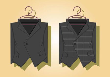 blazer: Vector of female blazers Illustration