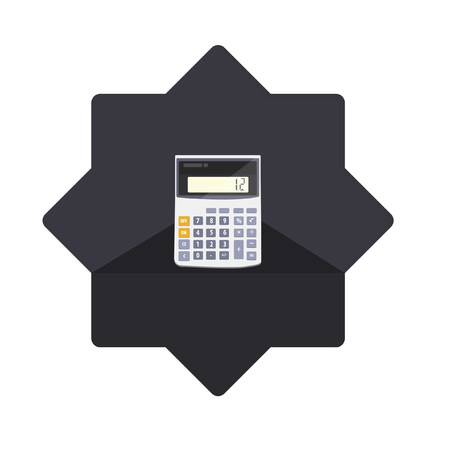 Illustration of a calculator Vector