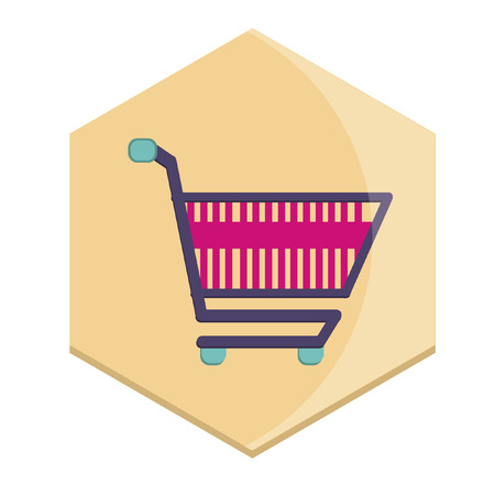Illustration of a shopping cart Vector