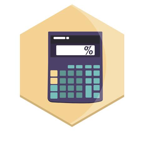 Illustration of a calculator 向量圖像