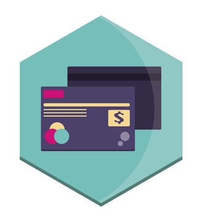 Illustratie van creditcards