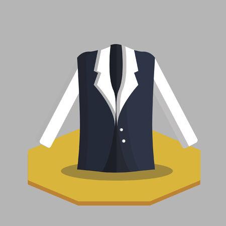 Illustration of a vest