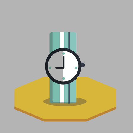 timezone: Illustration of a watch
