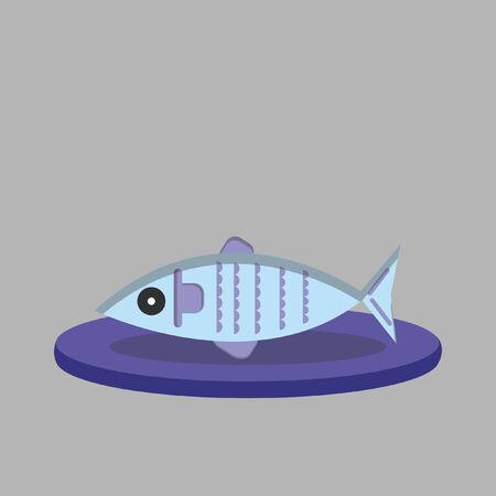 Illustratie van een vis