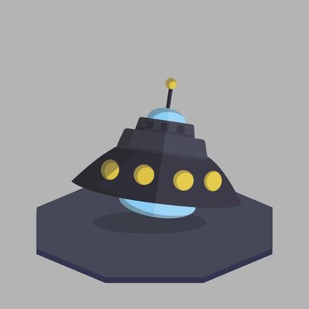 宇宙船のベクトル