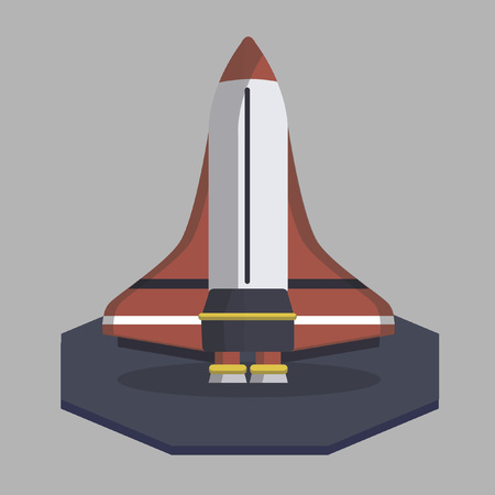 propellant: Vector of a rocket