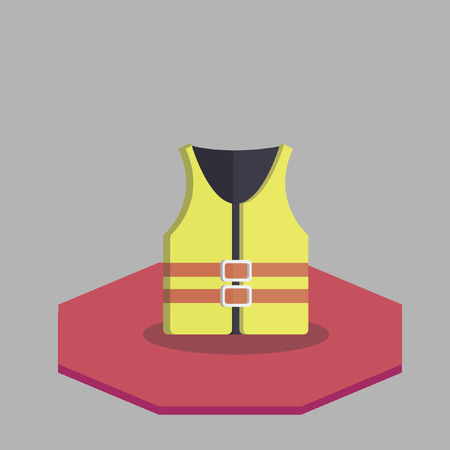 Vector of a lifejacket