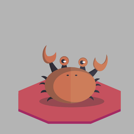Vector of a crab