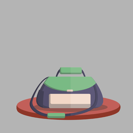 Vector of a gym bag Illustration