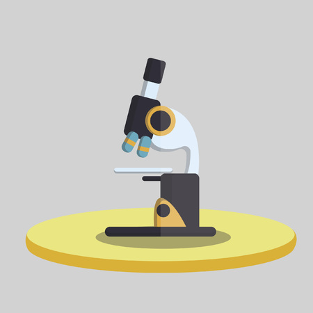 Vector of a microscope