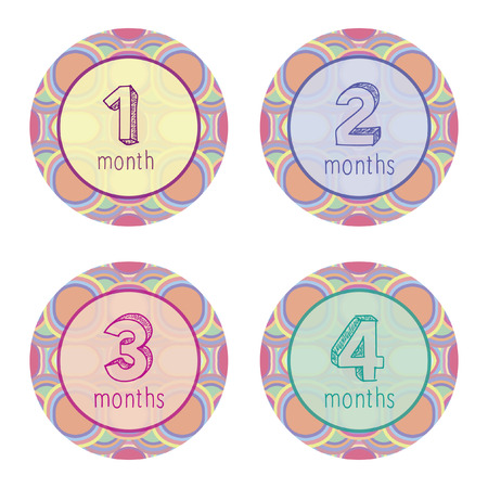 1 2 month: One, two, three and four months