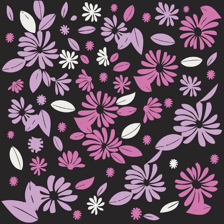Flowers Illusztráció