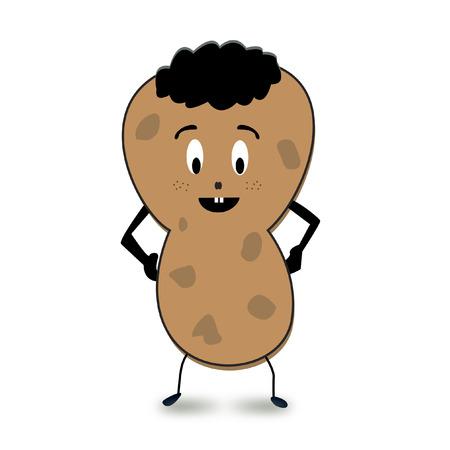Peanut cartoon character Illustration