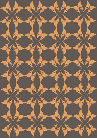psychedelia: Abstract repeating pattern Illustration