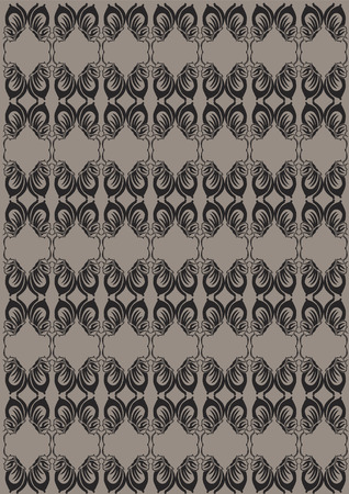 Abstract repeating pattern Ilustracja