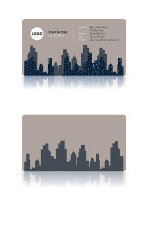 business card: Business card