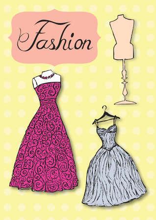 Dresses Illustration