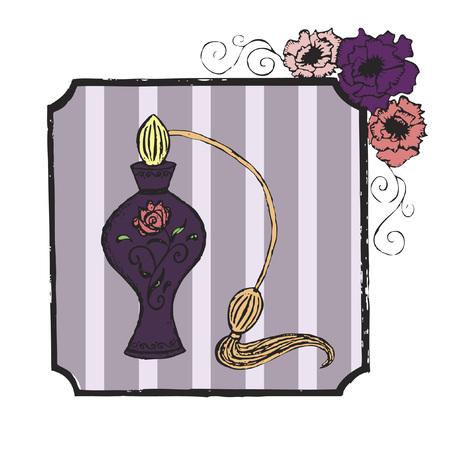 perfume atomizer: Bottle of perfume