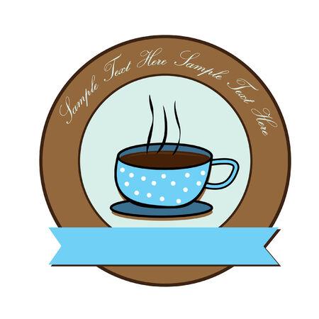 カフェテリア コーヒー  イラスト・ベクター素材