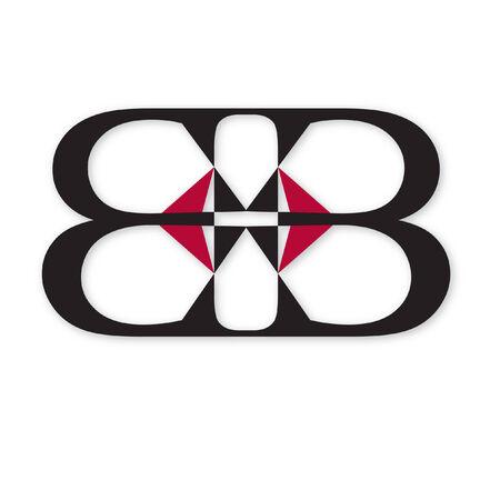 현대 대칭 디자인