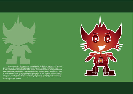 Copyspace とロボットのキャラクター