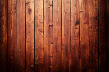 Texture of a wooden wall with spotlight