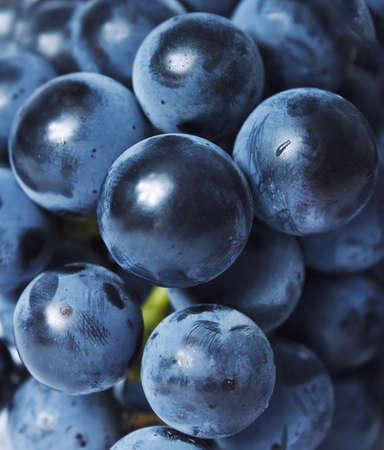 Fresh Grapes close up background Stock Photo