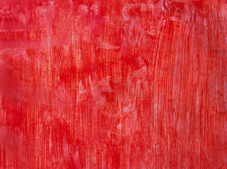 red hand drawn background Stock Photo