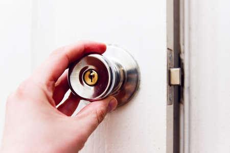 Door Opening by hand