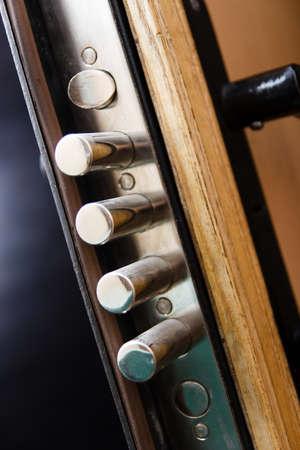close fitting: Cylender hard lock close up Stock Photo
