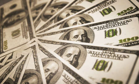 A lot of cash US dollars