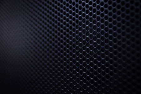 High resolution metal mesh grille. Uneven diffuse lighting version. Design component Stock Photo