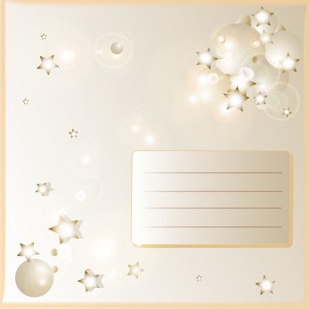 X-mas card Stock Vector - 16098777