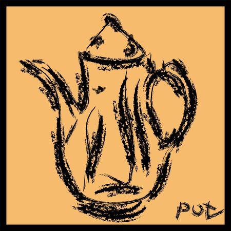coffee pot Stock Vector - 16220874