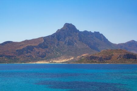 beautiful lazure bay at tropical island, Crete, Greece