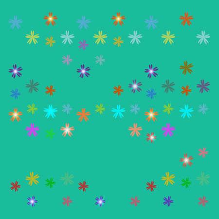 Vector star background design Illustration