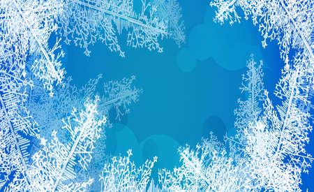 2018 neues Jahr auf gefrorenem Hintergrund des Eises. Ein editierbarer Farbverlauf wird zum einfachen Einfärben verwendet. Standard-Bild - 88450881