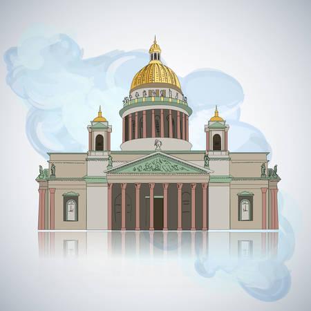 Russia. Vector Silhouette Icon Sign Set