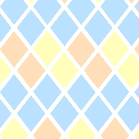 Vector background with rhombuses pastel colors. Background for text. 向量圖像