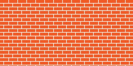 vector background of orange brick wall with glue