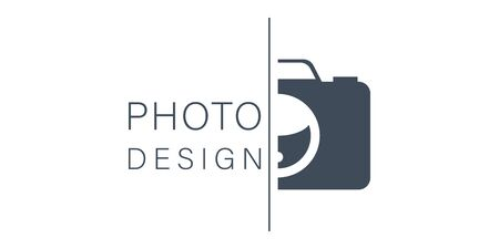 vector camera icon for photo design on background