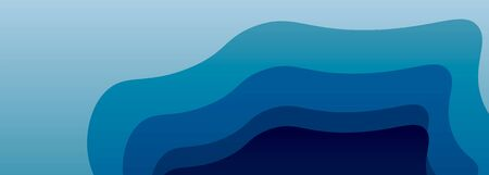 vector ice blue background with gradation to your web pages