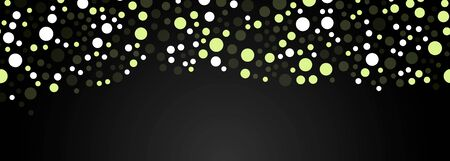 vector background of festive bright lanterns at night