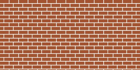 vector background of brown brick wall with glue