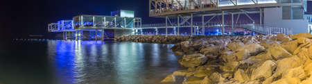 old port: Limassol old port (palio limani) development. Editorial