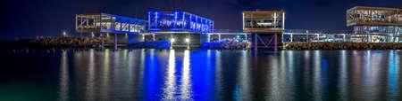 Limassol old port (palio limani) development. Editorial