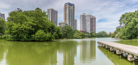 North pond at Chicagos Lincoln park