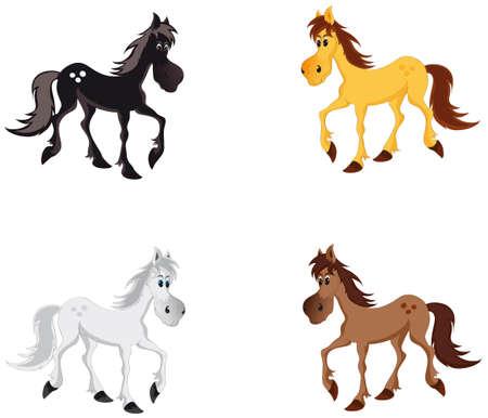 sympathetic: Horse Illustration