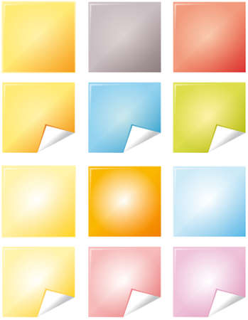 Color notes Vector